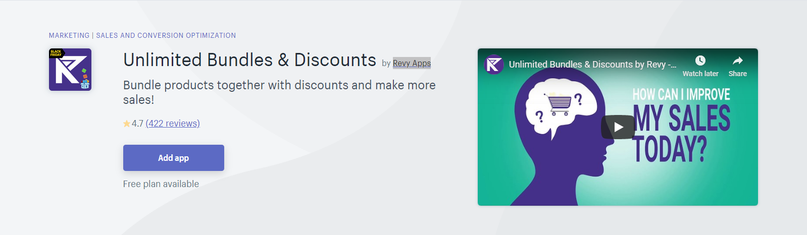 Unlimited Bundles & Discounts Shopify App