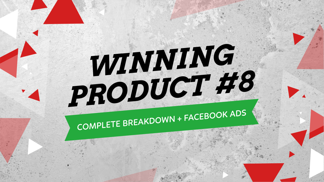 Winning Products Facebook Ads Testing