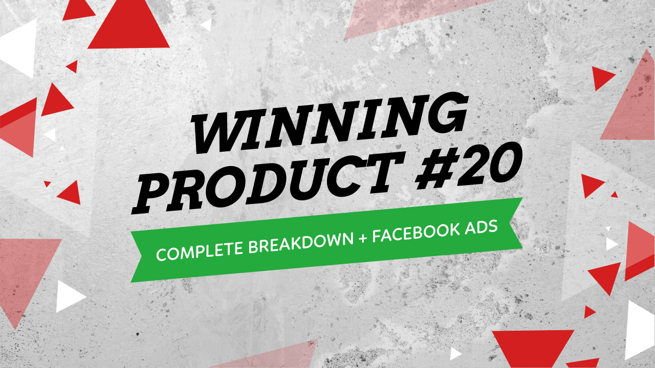 Winning Product Facebook Ads Strategy