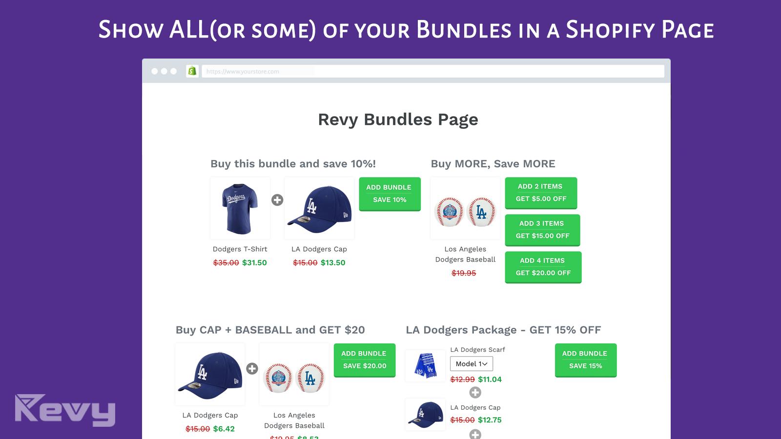 Unlimited Bundles & Discounts
