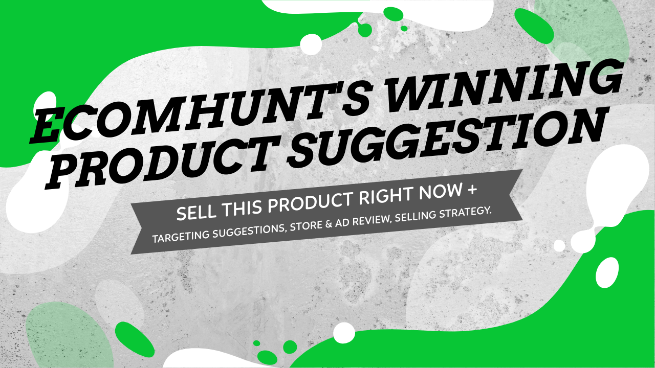 Ecomhunt's Winning Product Suggestion - Windshield Snow Cover You Must Sell Right Now + Targeting Suggestions, Selling Strategy, And Full Video Ad + Store Review