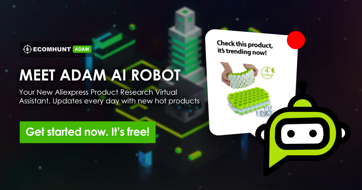 [New Feature] Meet Adam - Your Aliexpress Product Research Virtual Assistant