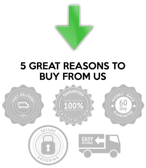 5 great reasons to buy from us